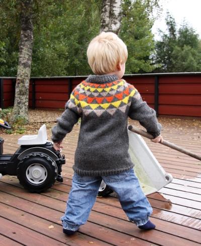 Vimpelgenser til 3-åringen
